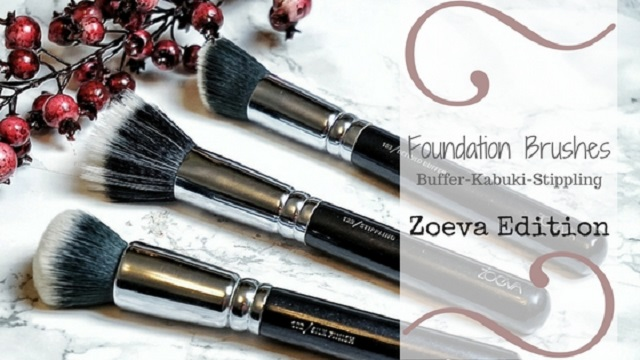 Foundation Brush Guide Vergleich Zoeva Edition Defined Buffer Stippling Silk Finsih