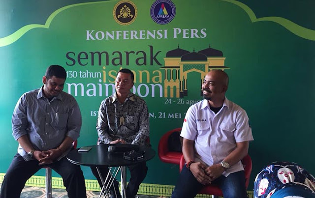 Perayaan HUT Ke-130 Istana Maimun Direncanakan Dibuka Presiden Jokowi