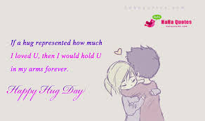 Free Hug Day Quotes 2016