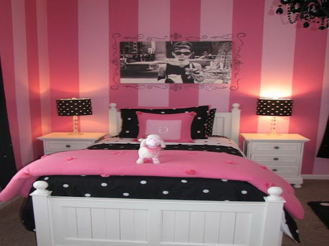 Pink Room Ideas: Between the Gold and Others Pink Room Ideas: Between the Gold and Others 1