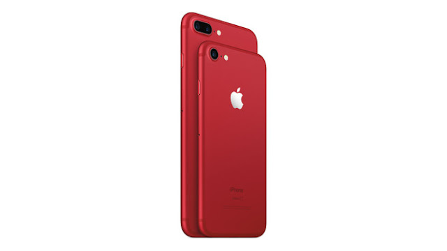 Tim Cook looks red: Apple shows new iPhone 7 product Red