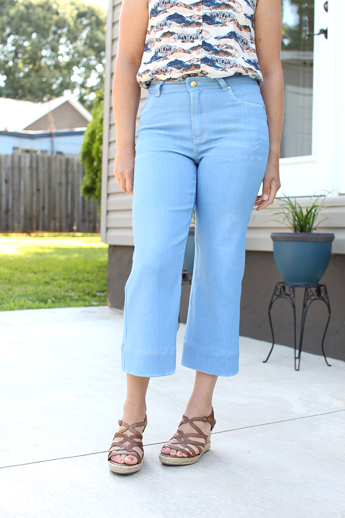 Ash Jeans // Sewing For Women