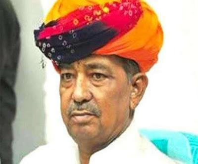 भाजपा सांसद सांवर लाल जाट का दिल्ली में निधन