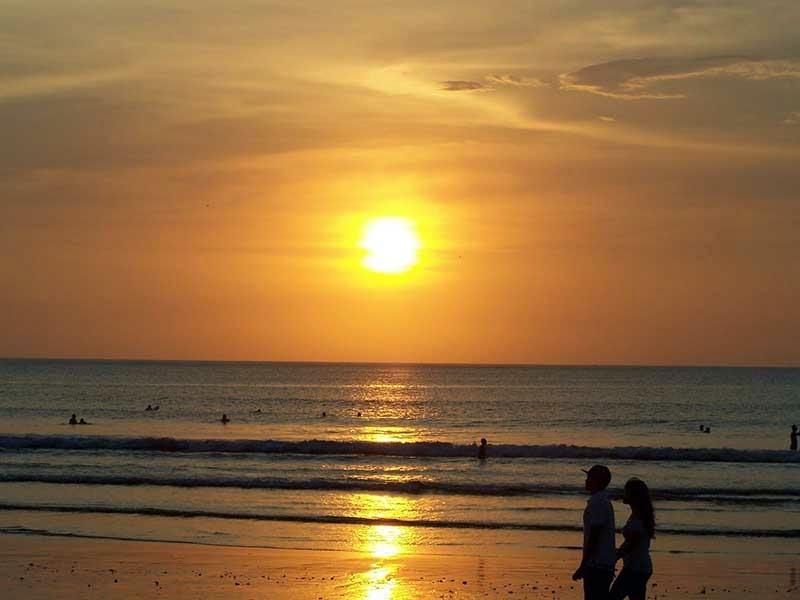 sunset di pantai senggigi, foto sunset di lombok, fotografi sunset, wisata lombok