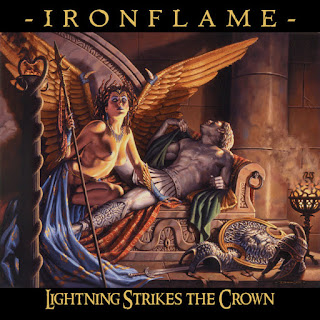 "Ironflame - ""Firestorm"" (audio) from the album ""Lightning Strikes the Crown"""