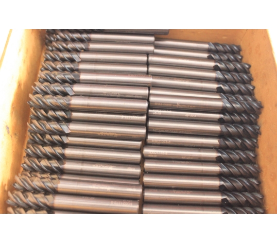 Endmill 8 7F Bekas | Endmill D8 Carbide | Mata Pisau Milling | Cutter