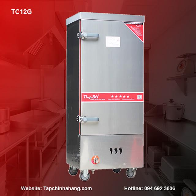 Tủ cơm 12 khay sử dụng gas TCG12-2018