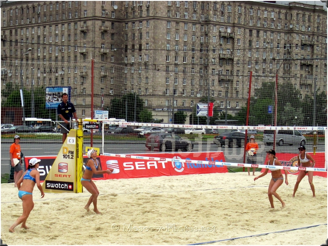 Beach Volleyball World Tour In Moscow - 2010