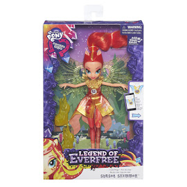 MLP Equestria Girls Legend of Everfree Crystal Wings Sunset Shimmer Doll
