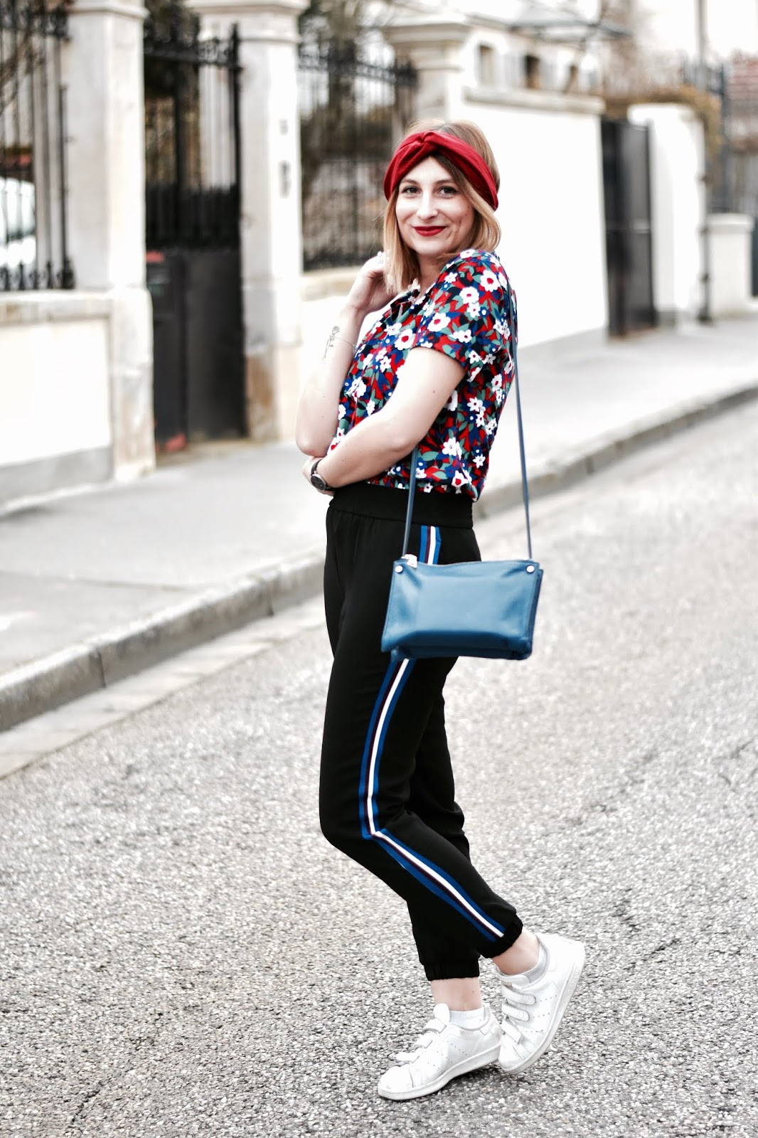 look pantalon de jogging