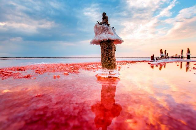 Crimeea-lac de sare-mina