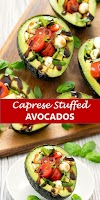 #recipe #food #drink #delicious #family #Caprese #Stuffed #Avocados