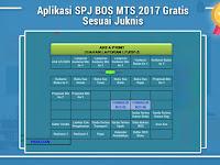 Aplikasi SPJ BOS MTS 2017 Gratis Sesuai Juknis