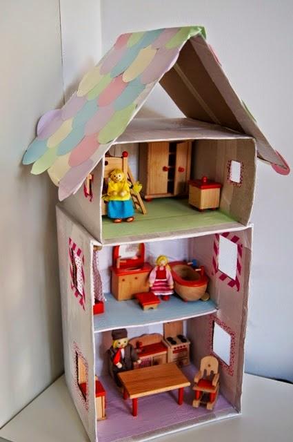 Idee per creare giochi per bambini riciclando le scatole for Creare cose in casa
