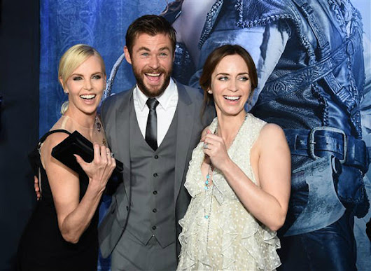 'THE HUNTSMAN: WINTER'S WAR' STARS LIGHT UP THE BLACK CARPET AT THE LOS ANGELES PREMIERE