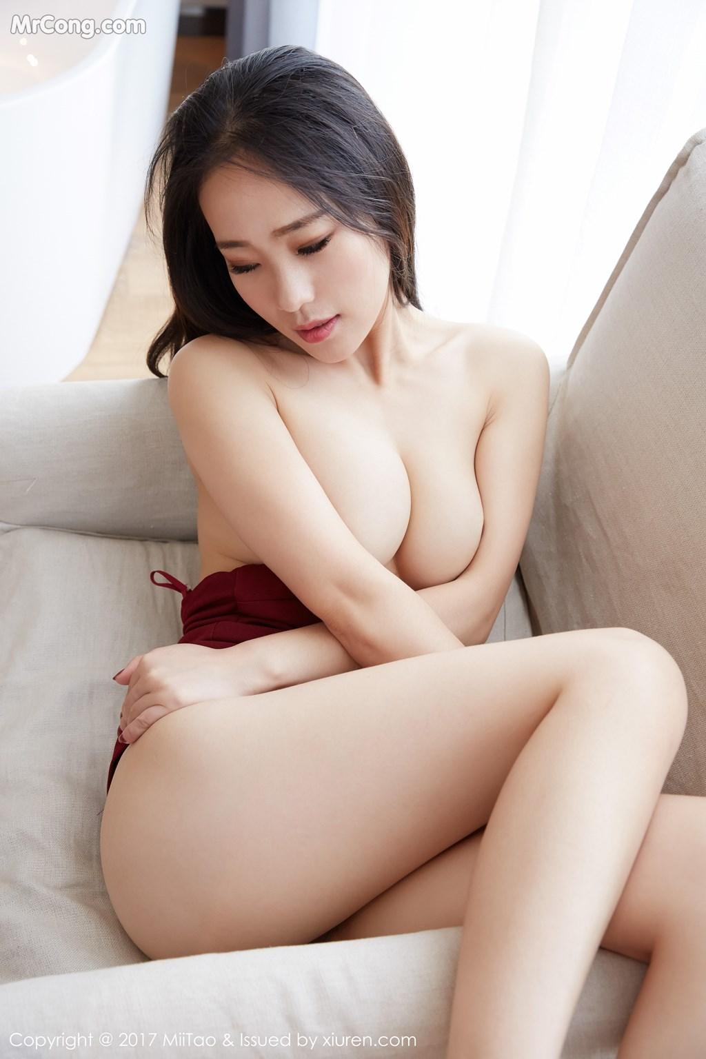 Image MiiTao-Vol.079-Yu-Wei-MrCong.com-029 in post MiiTao Vol.079: Người mẫu Yu Wei (雨薇) (54 ảnh)