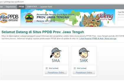 Ada masalah terkait PPDB Online Provinsi Jawa Tengah? Silakan bertanya dengan cara ini