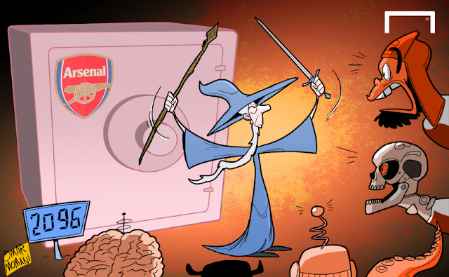 Wenger Gandalf cartoon