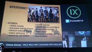 RootedCon 2018 - Chema Alonso - Wild, Wild, Wifi: Dancing with wolve