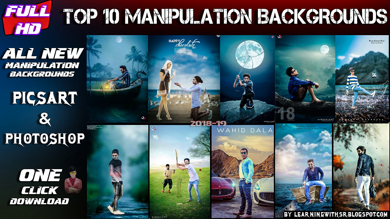 Top 10 Manipulation Backgrounds Of 2018 Picsart Top 10 Background