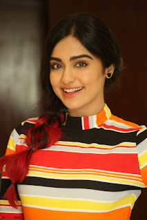 Adha Sharma in a Cute Colorful Jumpsuit Styled By Manasi Aggarwal Promoting movie Commando 2 (119).JPG