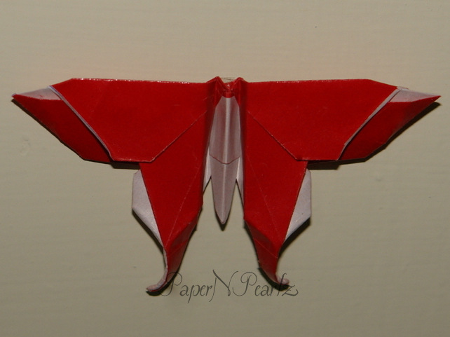 Alexander Swallowtail Butterfly (Michael LaFosse) | Happy Folding | 481x642