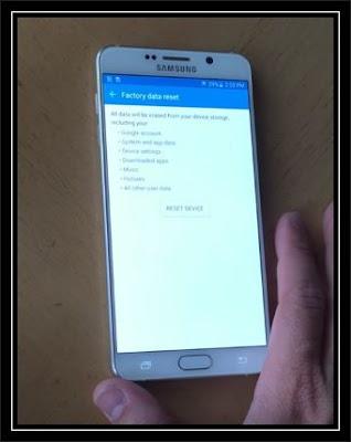 Samsung Galaxy S8 Soft Reset