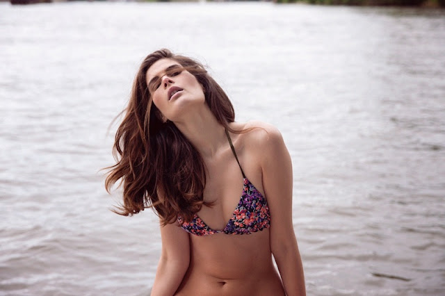 Absolutely Pom Summer Latest Lingerie and Swimwear Campaign featuring Monica Cima