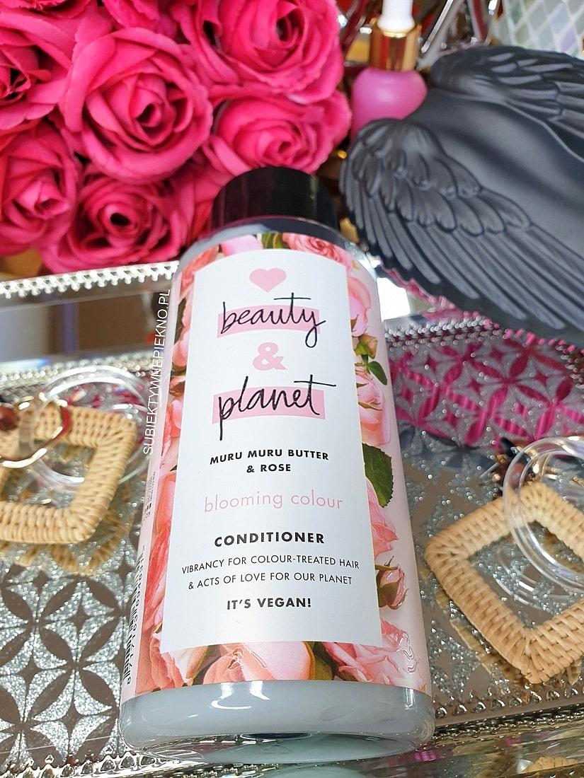 Odżywka Love Beauty & Planet Muru Muru i Róża | Perfumy do włosów!