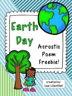 earth day 2013 writing activities