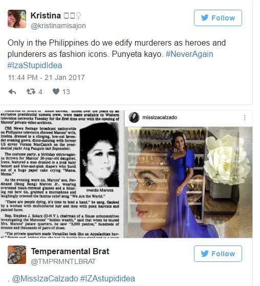 "Iza Calzado Finally Breaks Silence Over Imelda Costume: ""Opinionated and Sensitive About EVERYTHING.. Even a PARTY COSTUME!"""