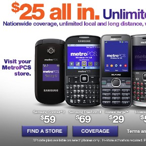 MetroPCS Brings Back $25 Unlimited Talk and Text Plan