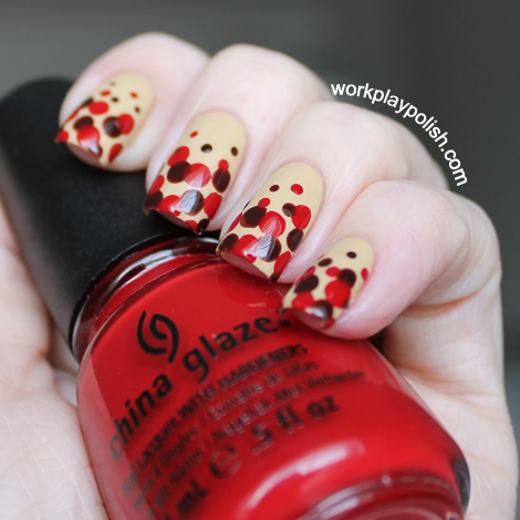 China Glaze On Safari Kalahari Kiss, Call of the Wild and Adventure Red-y