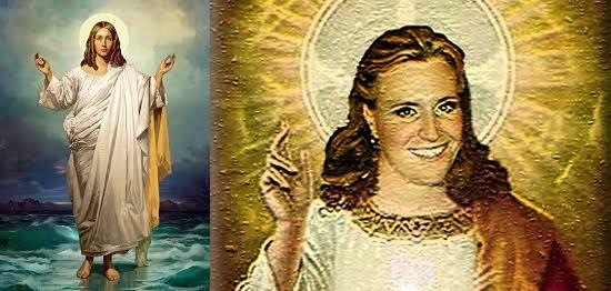 Jesus Cristo versão feminina