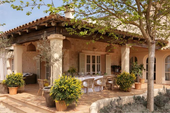 15 comedores exteriores para jardín o terraza - Guia de jardin
