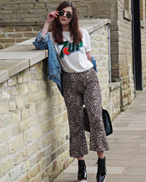 nobody child leopard trousers