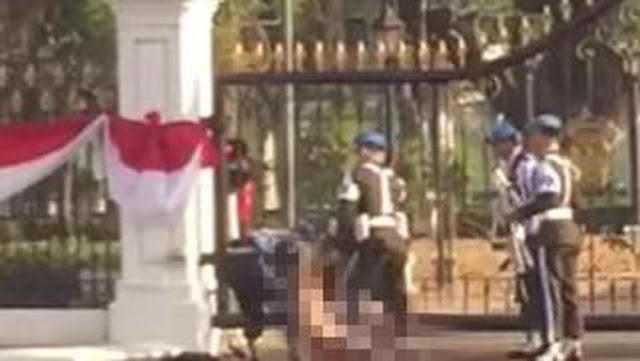 Pacar Sudah Meninggal, Pria Bugil Halusinasi Nikah di Istana