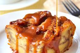 Best Delicious Cinnamon Roll Bread Pudding Recipe