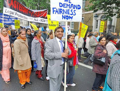 Why is the U.K. thinking of anti-caste law?