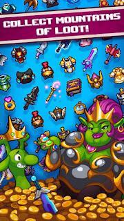 Download Game Dash Quest Heroes Mod (Infinite Money) Offline gilaandroid.com