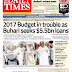 NAIJA NEWSPAPERS: TODAY'S THE DAILY TIMES NEWSPAPER HEADLINES [11 OCTOBER, 2017].