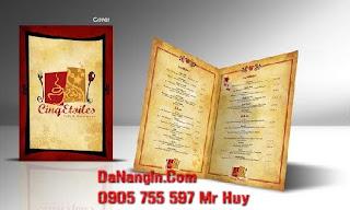 Địa chỉ làm menu cafe trà sữa tại đà nẵng 0905 755 597 Mr Huy