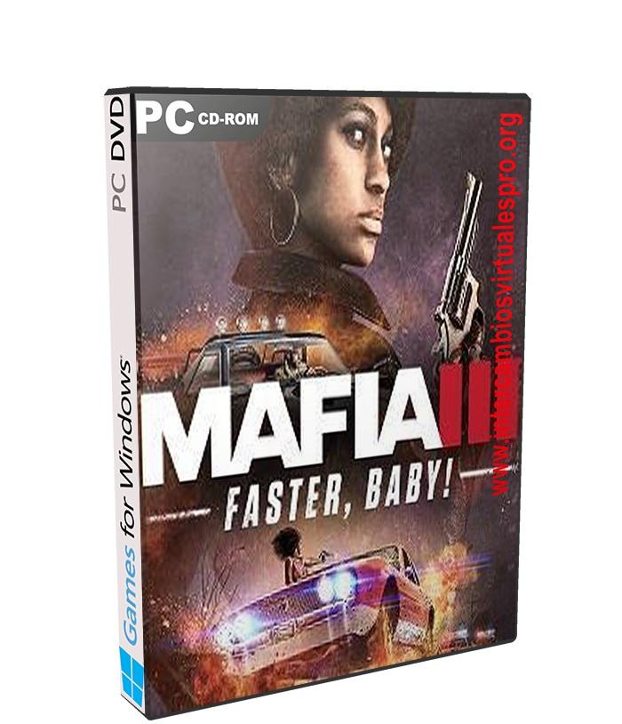 Mafia III Faster Baby poster box cover