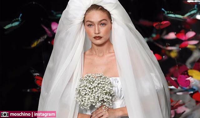 هذه حقيقة زواج جيجي حديد من زين مالك وسر فستان الزفاف