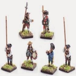 AWA6 Militia, command, standing.