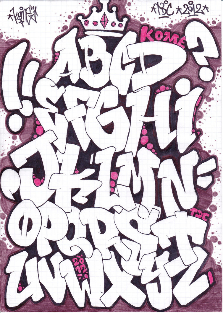 Graffiti Styles Fonts Wallpapers