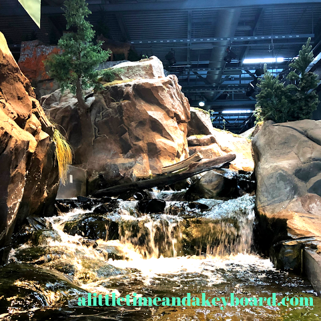 Baptism River is a stunning exhibit and focal point at Great Lakes Aquarium in Duluth, MN