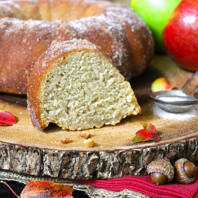 Apple Cider Donut Cake by Lee and Jay