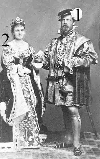 Prinz und Prinzessin Friedrich Karl von Preußen