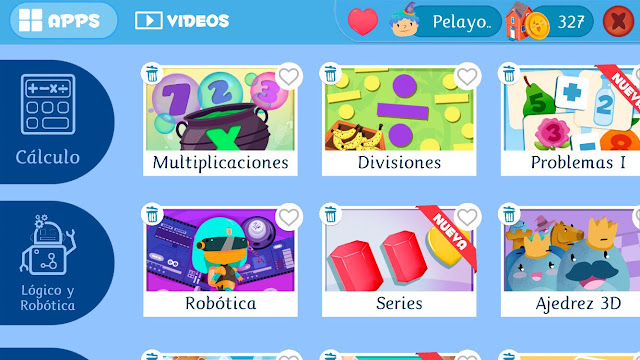 apps educativas de matemáticas de Smile and learn